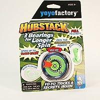 YoYoFactory Hubstack Yo-Yo - Green and Blue [並行輸入品]