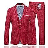 CEENスーツ スリーピース メンズ スーツセット ストライプ ビジネススーツ 一つボタン スリムスーツ スタイリッシュ 洗える メンズ スーツ 3ピース カジュアルスーツ メンズ ベスト付き 紳士礼服フォーマルスーツ ジェントルマン