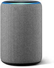 All-new Echo (3rd Gen) - Smart speaker with Alexa - Heather Grey Fabric
