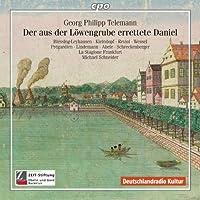テレマン:ハンブルクの聖なる音楽集 1600-1800年 テレマン:オラトリオ「ライオンの巣窟から戻ってきたダニエル」(Telemann:Der aus der Lowengrube errettete Daniel)