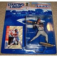 1997 Andruw Jones MLB Starting Lineup Figure [Floral] [並行輸入品]