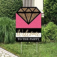 Big Dot of Happiness Girls Night Out - Party Decorations - Bachelorette Party Welcome Yard Sign [並行輸入品]