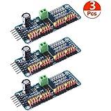 ACEIRMC PCA9685 16チャンネル 12-ビット PWM Servo モーター ドライバー IIC モジュール Arduinoに対応 ロボット (3個)