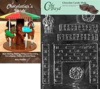 クリスマス暖炉' Cybrtraydチョコレート型Chocolatierのガイド