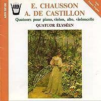 Quatuor Pour Piano Violon Alto Et