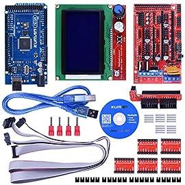 製品規格及び包装: (1)Mega 2560 R3 (2)3DプリンターコントローラのRAMPS 1.4のデザインは低コストのために小さい包装の中RepRapが必要の電子。ランプのインタフェースの互換性は、強力なメガarduino arduinoメガプラットフォームとの互換性と拡大のために多くの区間を持っている。Arduino-compatible MEGA シールドとしては、ステッパードライバーと押出機制御エレクトロニクスにおけるプラグを含むモジュラー設計がアリ、サービス、部分...