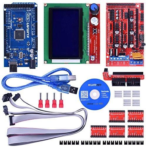 Kuman 3dプリンター キット Arduinoに交換 R...