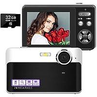 デジカメ デジタルカメラ コンパクトデジカメ カメラ HD 1080P 2400万画素 3xズーム 2.4イン…