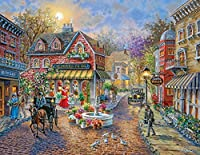 Springbok Cobblestone Village Jigsaw Puzzle (350-Piece) [並行輸入品]