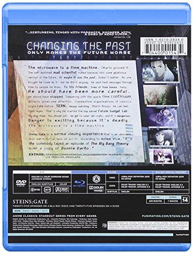 STEINS;GATE -シュタインズ・ゲート-:コンプリート・シリーズ 廉価版 北米版 / Steinsgate: Complete Series Classic [Blu-ray+DVD][Import]
