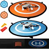 iMusk Drone and Quadcopter Landing Pad RC Aircraft Soft Landing Gear Surface Made of Waterproof Eco-Friendly Nylon for DJI Ma