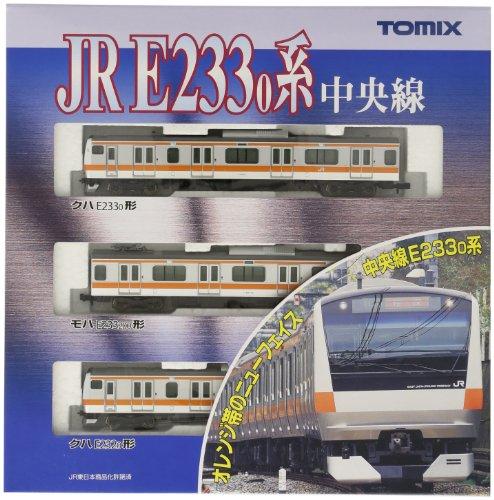 TOMIX Nゲージ 92336 E233系通勤電車 (中央線・3両T編成) 基本セット
