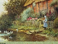 English Cottage 1000 Piece by Springbook by Springbook