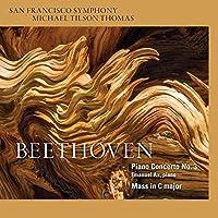 Beethoven: Piano Concerto No.3, Mass in C by Emanuel Ax (piano)