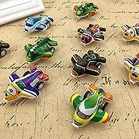 Early Childhood おもちゃ 子供用 おもちゃ プルバック 飛行機 小型インナティア ミニ 飛行機モデル (色はランダム)