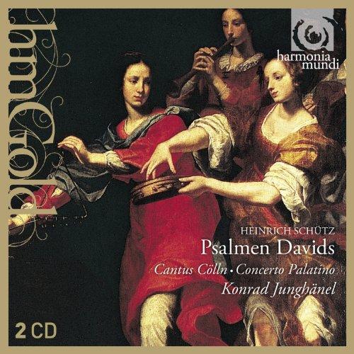 シュッツ:ダヴィデの詩篇歌集 SWV 22~47 (Schuetz : Psalmen David / Junghaenel) (2CD) [輸入盤]