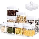 Kitsure Airtight Food Storage Containers 8 Pieces,BPA-Free Food Storage Containers with Lids Airtight,Freezer-Safe & Leak-Pro