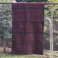 イカット フローレス島 インドネシアの本物 アンティーク 絣織物 型番3004