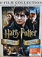Harry Potter Year 7 2-Film Collection DVD (Harry Potter and the Deathly Hallows Part 1 & 2) [並行輸入品]