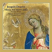 ジョスカン・デ・プレ:ミサ曲とモテトゥス集 (Desprez: Missa Ave Maris Stella; Marian Motets)