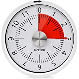 dretec(ドリテック) 12分計ダイヤルタイマー アナログ ホワイト T-319WT
