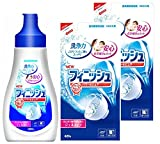 フィニッシュ 食洗機用洗剤 ジェル本体 480g + 詰替 420g × 2個 (約220回分)
