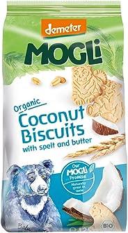 Mogli Organic Bear Coconut Biscuits, 125 Grams
