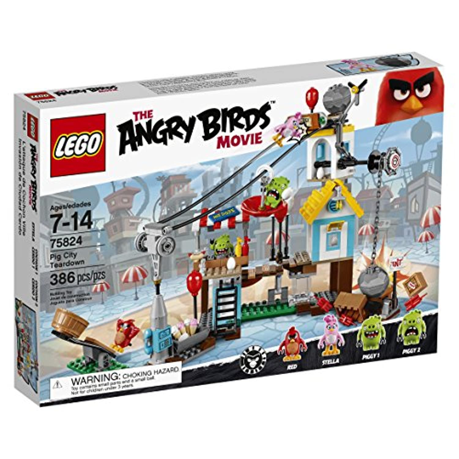 [レゴ]LEGO Angry Birds 75824 Pig City Teardown 6137896 [並行輸入品]