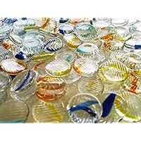 ガラスのおはじき マーブルハジキ 約1.5cm/100個入り 日本メーカー Glass Counter