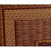 【日本製】純国産/日本製 袋織 千鳥い草座布団 『ランクス 2枚組』 ワイン 約55×55cm×2P