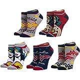Wonder Woman 5 Pair Ankle Socks