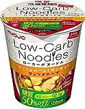 明星 低糖質麺 Low-Carb Noodles マッシュルームのオニオンコンソメスープ 53g×12個
