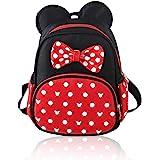 Cute Minnie Mouse Backpacks Waterproof Small Girls Disney Backpacks Casual Daypack Travel Bag Rucksack