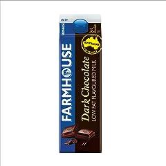 Farmhouse Farmhouse Dark Chocolate Low Fat Flavoured Milk 1L Fresh Milk, 1 l - Chilled