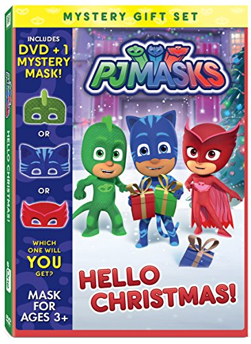 PJ Masks: Hello Christmas Mystery Mask Gift Set [DVD] [Import]
