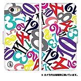 スマホゴ [iPhone7] アイフォン 手帳型 カード収納付き スマホケース 0016-A. ホワイトポップ三浦 人気コラボ フランク三浦