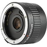 C-AF 2XII Magnification Teleconverter Extender Auto Focus Mount Lens for Canon EOS EF Lens for Canon EF Lens 5D II 7D 1200D 7