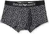 (エンポリオ アルマーニ)EMPORIO ARMANI 7P505 BLACK&WHITE ボクサーブリーフ ARB675050 202 チャコール M