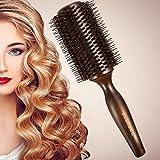 豚毛ヘアブラシ ロールブラシ Bestool ケヤキ製 髪をつやつやする ファッションヘアブラシ 新型タイプ 高級美容ヘアブラシ