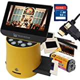 Wolverine Titan 8-in-1 20MP High Resolution Film to Digital Converter with 4.3 Screen and HDMI output Worldwide Voltage 110V/