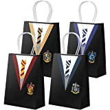 16 PCS Party Gift Bag for Harry Unique Potter Party Magical Wizard School Party Favors Bags for Harry Unique Potter Gift Bags