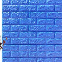 Malegoddess 壁紙 壁紙シール シール 3D 剥がせる DIY 3d リフォームシール はがせる 自己粘着 簡単貼付シール カッティングシート ふすま紙 アンティー インテリアシール 壁紙クロス 賃貸OK 防水 防潮 健康 補修 壁/家具/洗面所/台所 70x77cm 9mm厚さ10枚セット 30枚セット