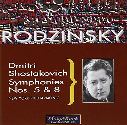 Rodzinski Conducts Shostakovic