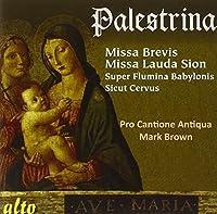 Palestrina: Missa Brevis; Missa Lauda Sion by Pro Cantione Antiqua (2013-05-03)