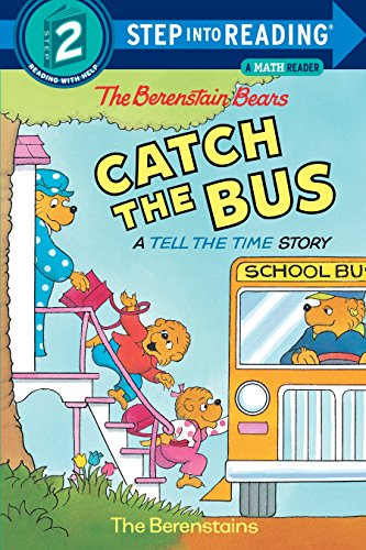 The Berenstain Bears Catch the Bus (Step Into Reading Step 2 + Math)の詳細を見る