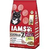 アイムス (IAMS) キャットフード 7歳以上用 インドアキャット チキン シニア猫用 1.5kg