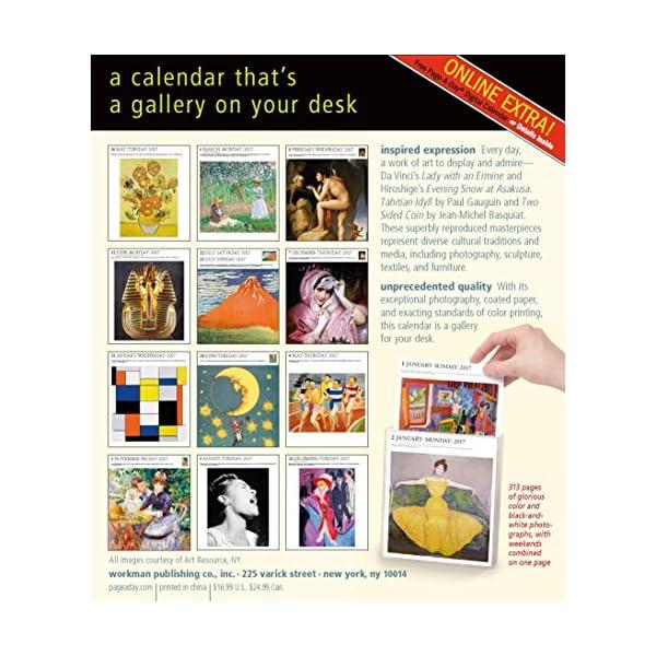 Art Gallery 2017 Calendarの紹介画像2