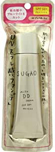 スガオ (SUGAO) エアーフィット DDクリーム ピュアオークル SPF50+ PA++++ 25g