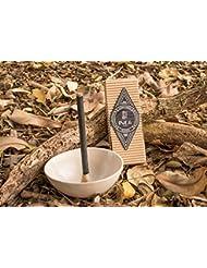 新しいボックスの9プレミアムPalo Santo Incense Sticks :手作り100 %ナチュラル、アーティザンand Therapeutic Incense Stickからのブラジルアマゾンフォレスト、経験正...