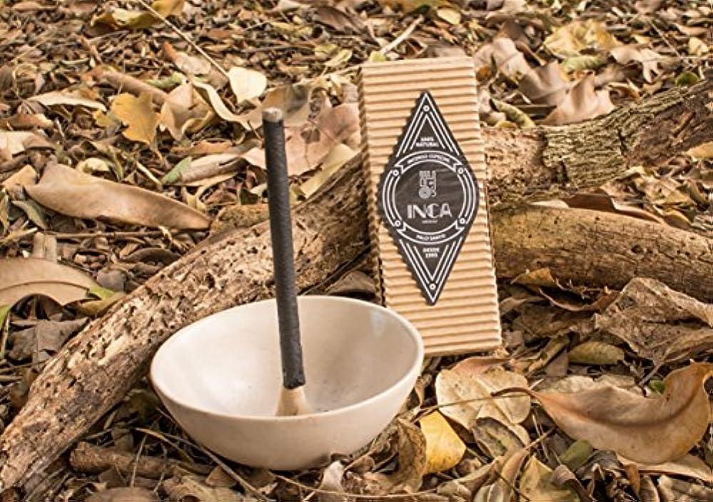 アクセント瞑想世論調査新しいボックスの9プレミアムPalo Santo Incense Sticks :手作り100 %ナチュラル、アーティザンand Therapeutic Incense Stickからのブラジルアマゾンフォレスト、経験正エネルギー& Harmony , Crafted by Inca